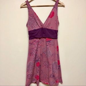 Patagonia pink and purple tank dress
